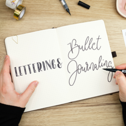 journaleinfach Lettering Bullet Journaling