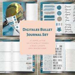 Produktfoto Digitales Bullet Journal Set