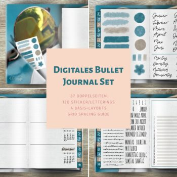 Produktfoto Digitales Bullet Journal Set